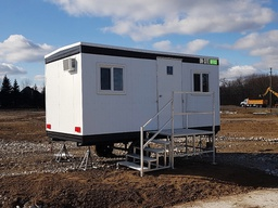 8' x 16' Office Trailer Rentals