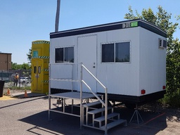 8' x 14' Office Trailer Rentals